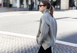 Zanimive oprave s puloverji s puli ovratnikom