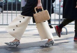 Štiri torbice iz rafije, ki jih lahko nosite tudi pozimi