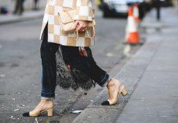 Stavite na dvobarvno klasiko tudi pri čevljih