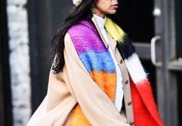 Mavrična moda se nadaljuje tudi v januarju