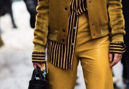 Gorčično rumena na vsakem koraku