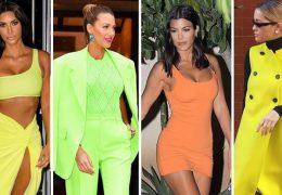 Fashionistke v neon barvah