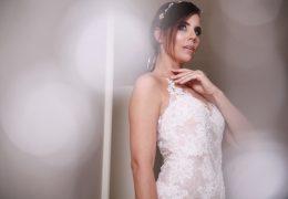 Foto in make-up Biljana Babič, obleka Pronovias iz butika Qualcosa di Blu, Trst