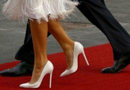 Modni čevlji Melanie Trump