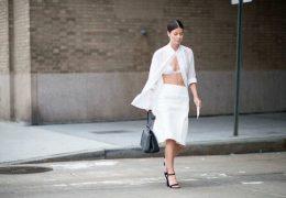Kako nositi belo ne da bi nas širila