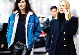 Denim jakne modne tudi pozimi
