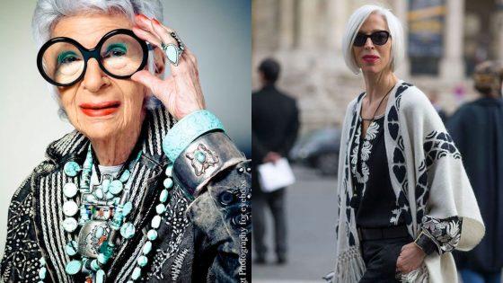 Modni nasveti za 50- in 60-letnice