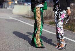 Zabavne so hlače v opaznih vzorcih