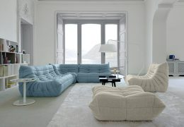 Kako poživiti stanovanje s pomočjo svetlo modre barve