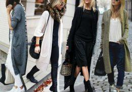 Dolga jopa namesto plašča: kako jo nosimo