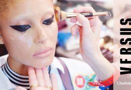 Kako je Charlotte Tilbury poskrbela za makeup modne revije Versus by Versace