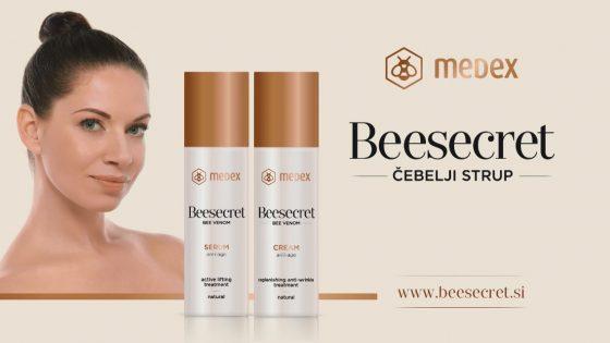 Kozmetika Beesecret s čebeljim strupom