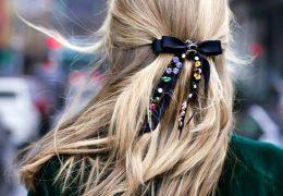 Še vedno moden nakit za lase