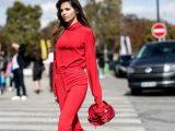 Kako nositi zimsko rdečo