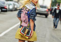 Pop art za razgiban look