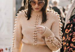 Okrašeni puloverji za prefinjen look