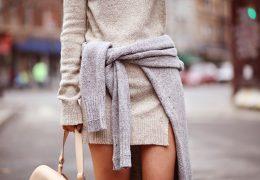 Pulover kot obleka ponovno med modnimi zapovedmi
