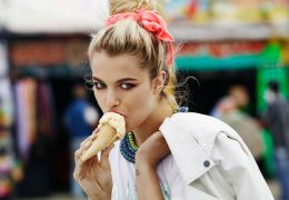 Sladoled – poletna osvežitev tudi v modi