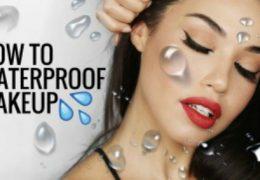 Kako do vodoodpornega makeupa, ki zdrži skozi ves dan