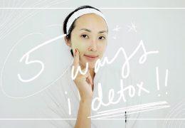 5 načinov za detoks telesa in kože