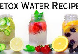Detox vode za izgubo teže in večjo energijo