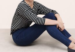 Mangov spomladanski jeans za močnejše postave