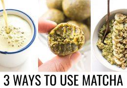 Trije predlogi, kako uporabiti sestavino Matcha