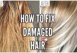 Kako popraviti izjemno poškodovane lase