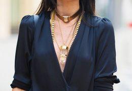 Kako kombinirati ogrlice