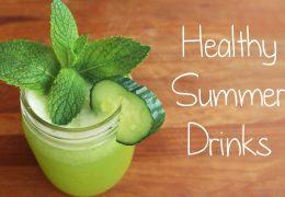 Zdravi poletni napitki