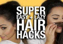 Triki z lasmi za lenobne dni