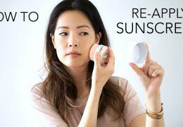 Kako nanašati zaščito pred soncem na naličen obraz