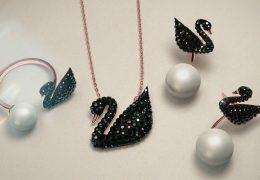Nova Swarovski kolekcija s črnim labodom