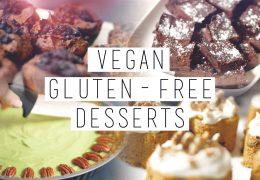 Zdrave, veganske sladice brez glutena