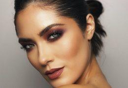 Dramatični makeup look za prihajajoče praznike