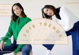Top trendi, ki bodo preplavili leto 2018