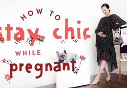 Kako izgledati šik tudi med nosečnostjo