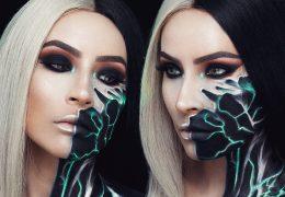 Računalniško navdihnjen make-up za noč čarovnic