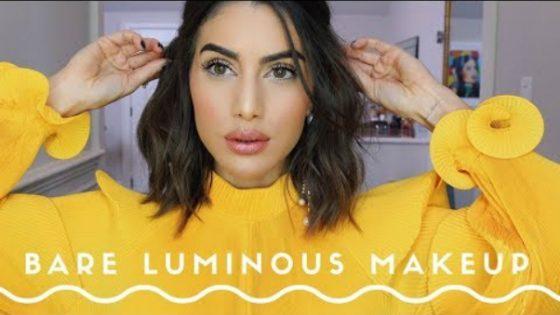 Naravni makeup look s poudarkom na osvetljevanju