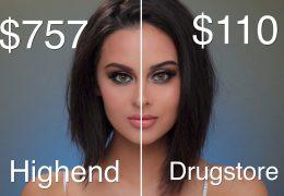 Dražja ličila proti cenejšim in kako vplivajo na celotni makeup