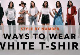 9 stajling idej z belo T majico