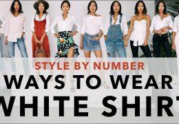 9 idej kako nositi belo srajco