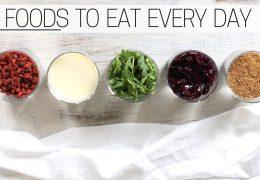 5 vrst živil za zdrav vsakdan