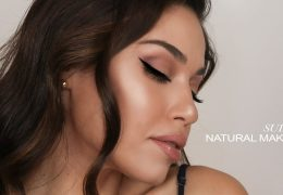 Nežen makeup look s podaljšanim eyelinerjem