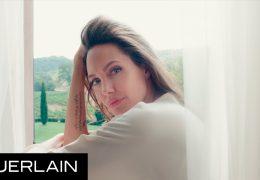 Angelina Jolie za novo dišavo Mon Guerlain