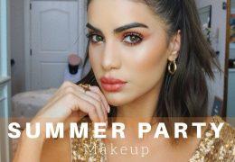 Poletni party make-up
