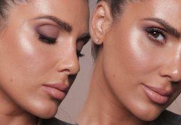 Make-up look s hladnejšimi toni