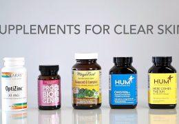 Katere prehranske dodatke jemati za čisto kožo