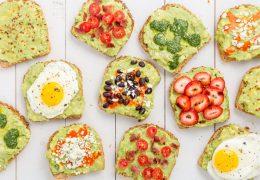 Ideje za zdrav zajtrk s sadjem ali zelenjavo
