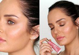 Naravni makeup z zdravo, svetlečo kožo